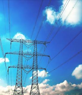 Transmission Line (Photo Credit: Wind Energy Foundation) Click to Enlarge.