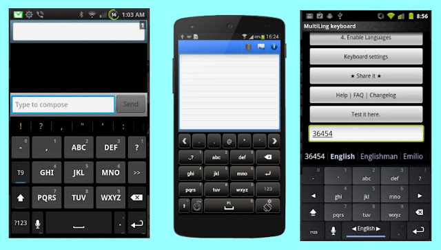 Keyboard Android non-Qwerty