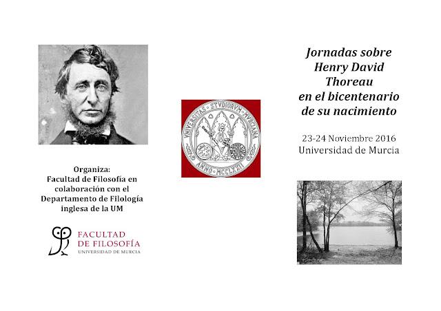 Jornadas sobre Henry David Thoreaucon.