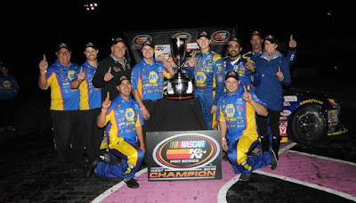Todd Gilliland Became the Third Driver to Win Both the Sunoco Rookie of the Year and NASCAR K&N Pro Series West Titles in the Same Year.