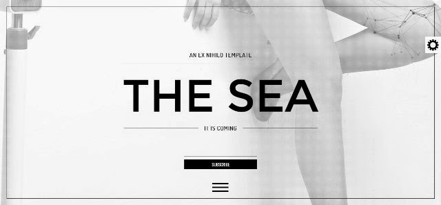 The Sea - Responsive Coming Soon Page