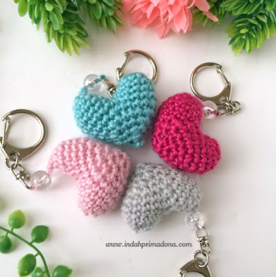 manfaatkan benang sisa rajutan, kreasi crochet, pola crochet, indahprimadona.com