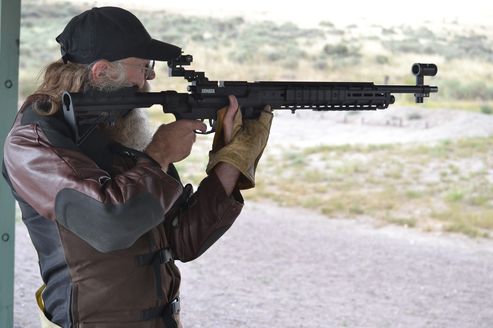 Blueflax Airguns: Competition Machine, Inc  Space gun Butt stock