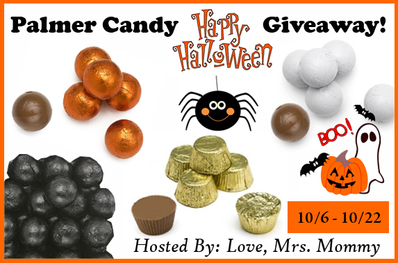 Palmer's Happy Halloween Candy Giveaway! 10/22