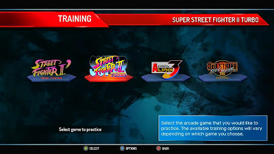 Street Fighter 30th Anniversary Collection - Only four games have training and online modes!