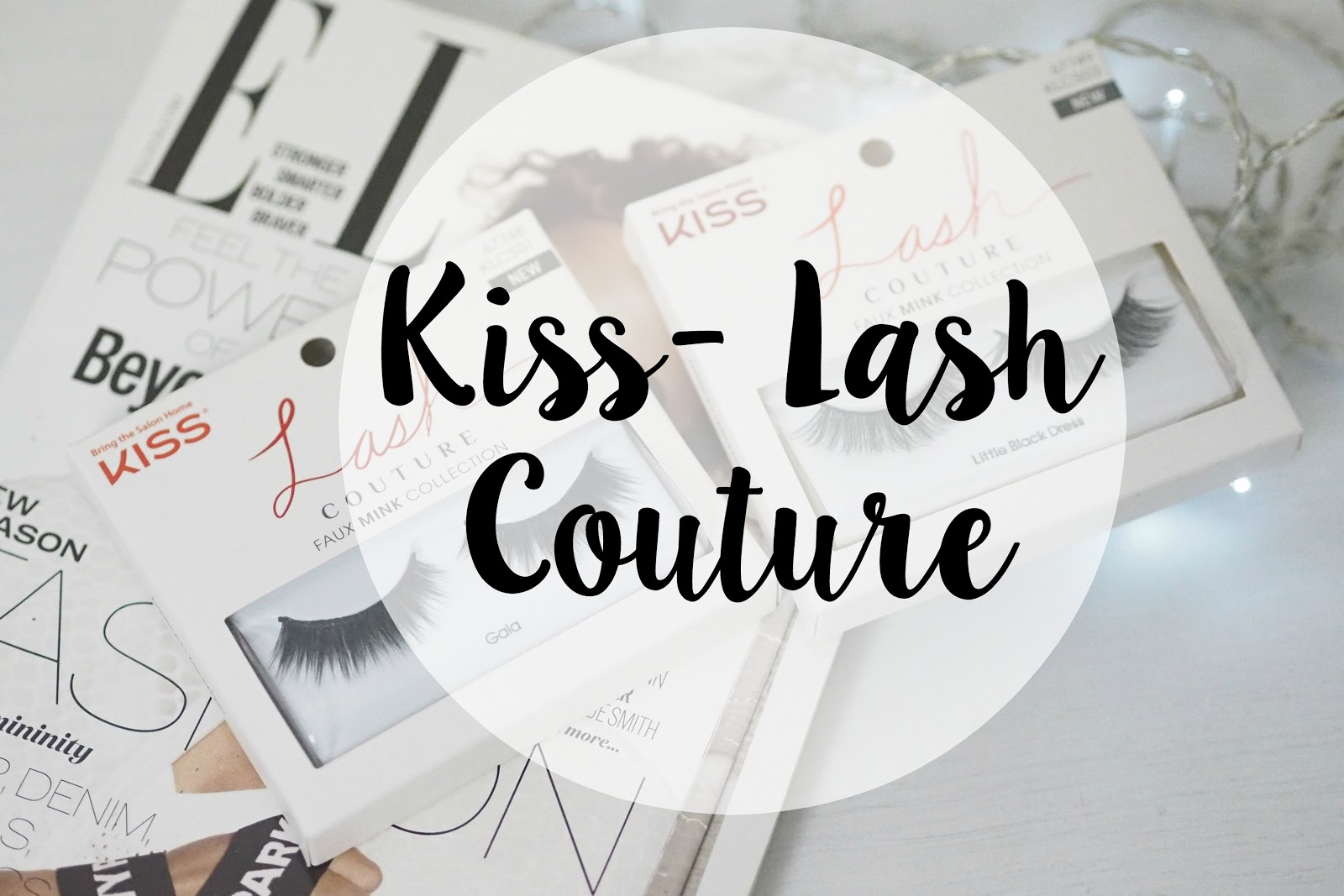 kiss lashes mink lash couture