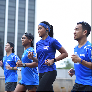 Lari dan fitness, olahraga yang efektif untuk membentuk perut sixpack