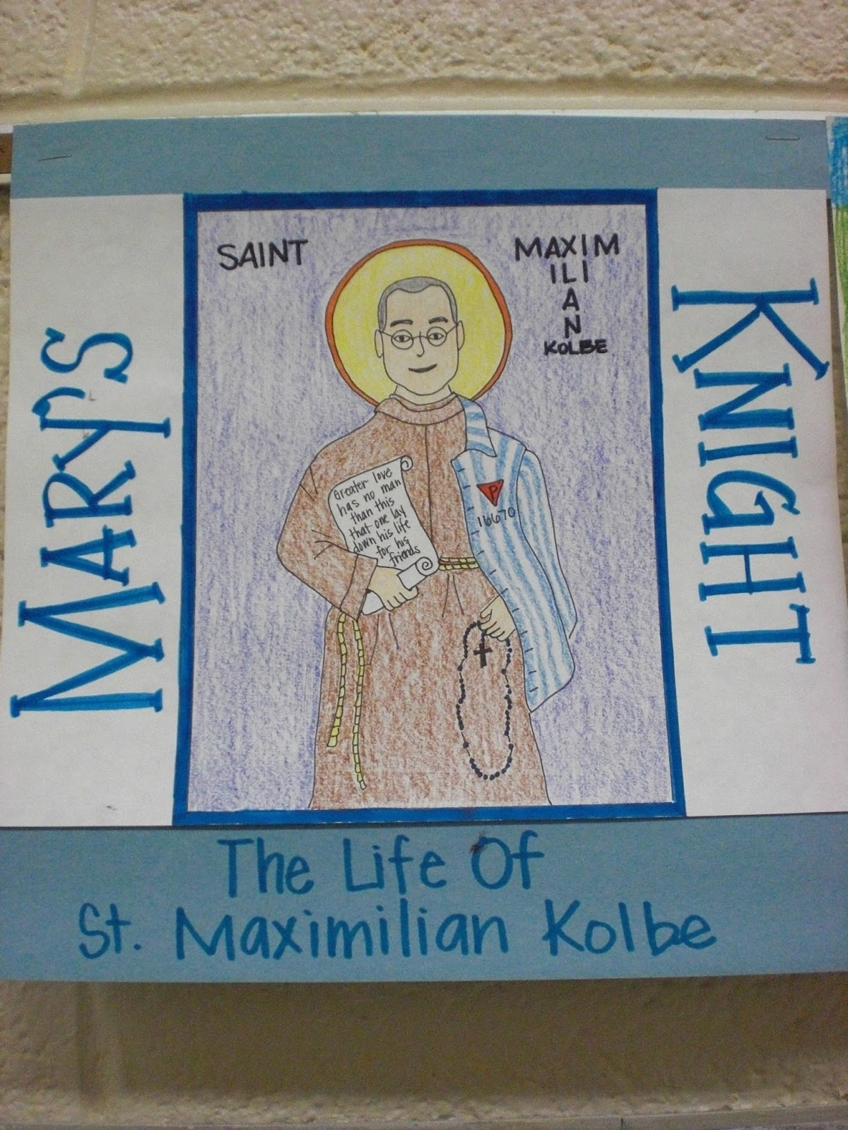 Look to Him and be Radiant: Teaching about St. Maximilian Kolbe