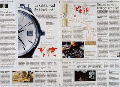 exemple de mise en page journal nordique article ursäkta, vad är klockan?
