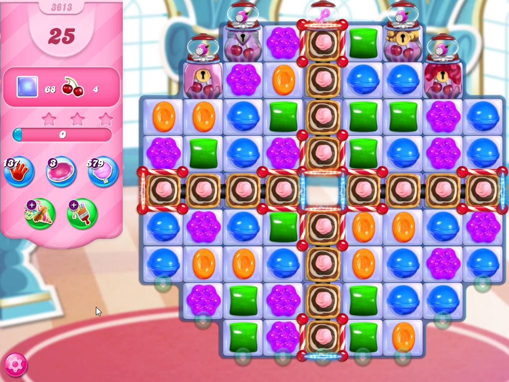 Candy Crush Saga level 3613