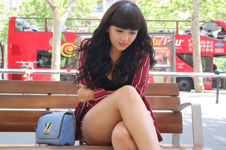 Young Actress Shwe Mhone Yati in Paris, France