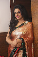 Udaya Bhanu lookssizzling in a Saree Choli at Gautam Nanda music launchi ~ Exclusive Celebrities Galleries 110.JPG