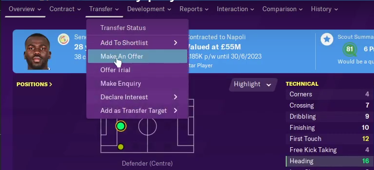 FM20 Transfer Cheat