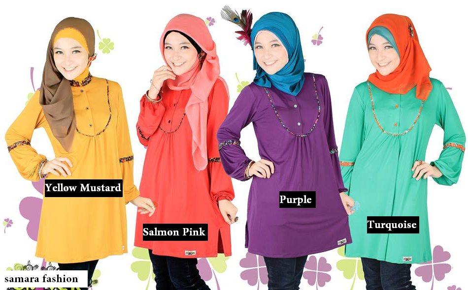Gambar Model Baju Muslim Remaja Masa Kini