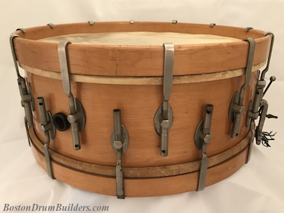 1922 George B. Stone % Son Master-Model snare drum