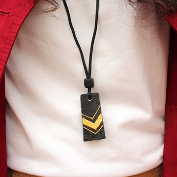 Upcycled Cork Necklace