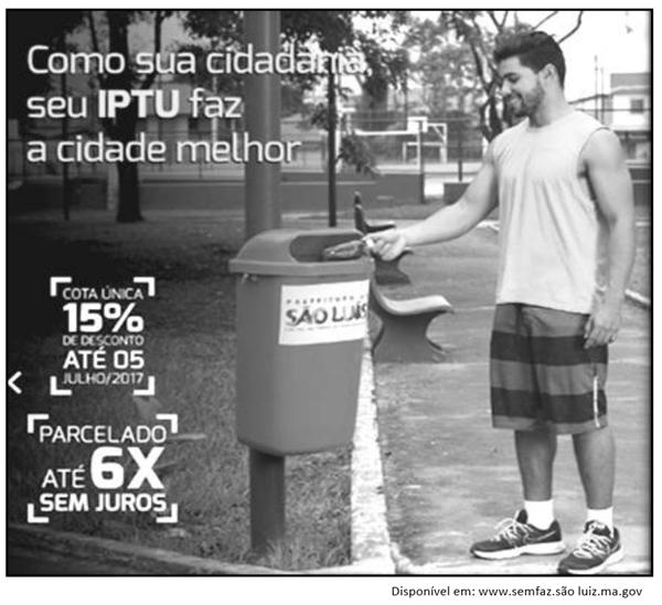 Com sua cidadania o seu IPTU faz a cidade melhor