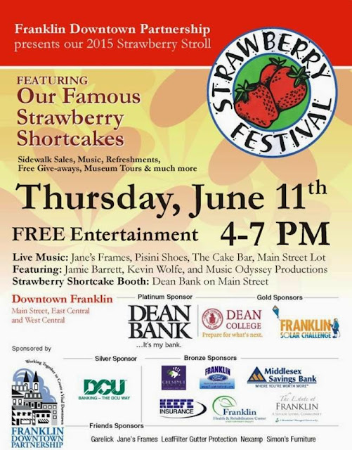 Franklin Downtown Partnerhsip - Strawberry Festival - June 11