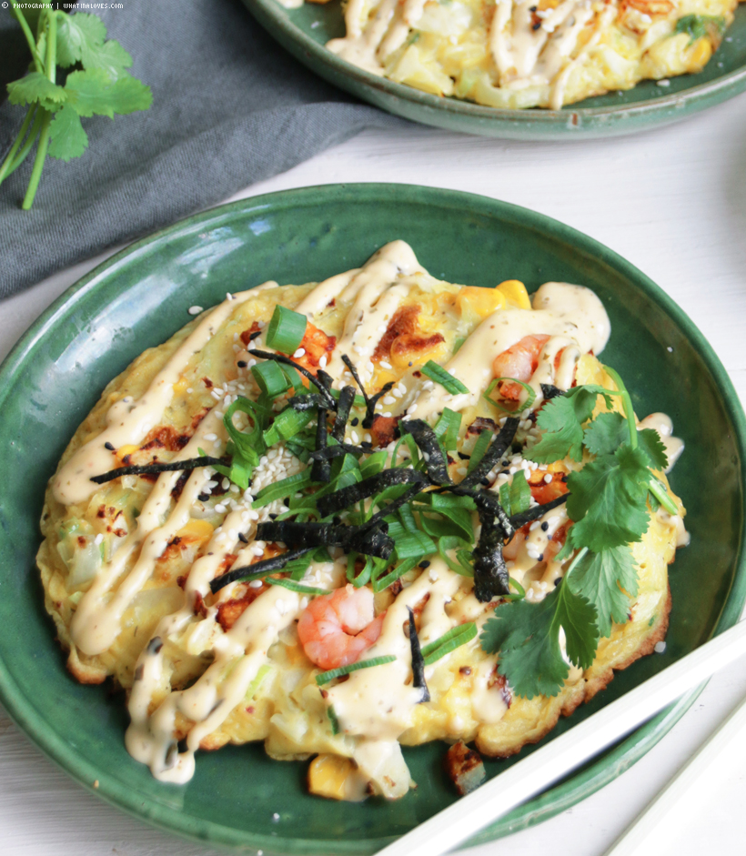Okonomiyaki  | whatinaloves.com