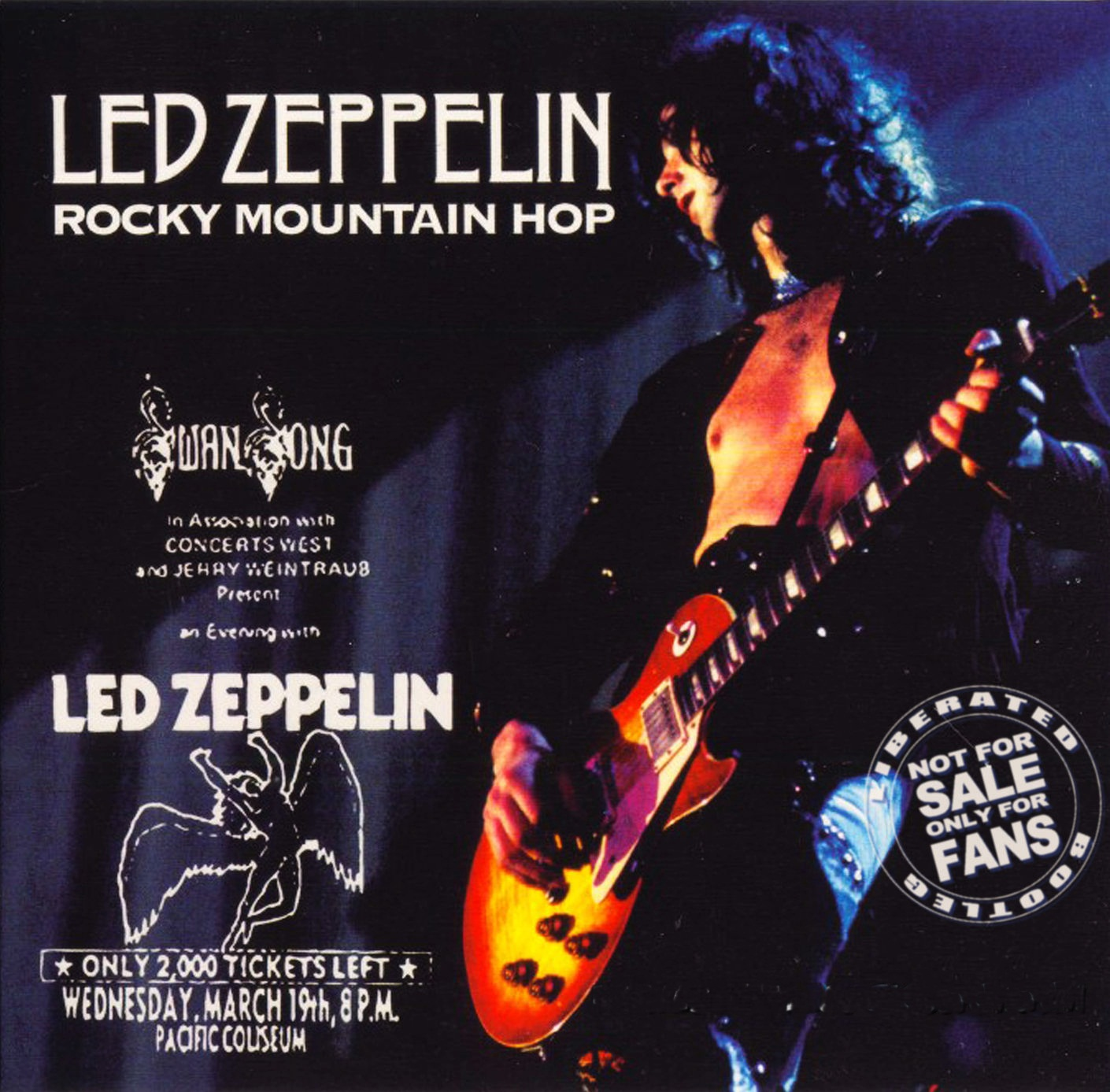 1975 - Led Zeppelin - Rocky Mountain Hop - Vancouver