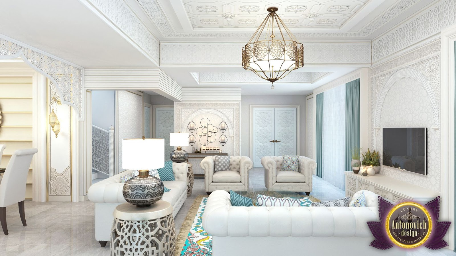 LUXURY ANTONOVICH DESIGN UAE: Interior design in the Moroccan style ...
