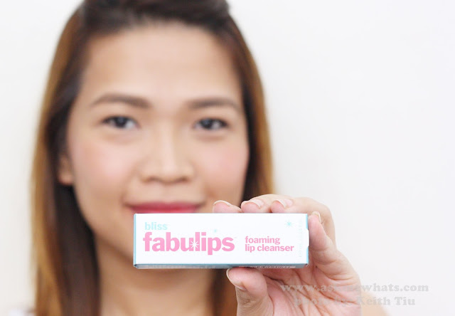 A photo of Bliss Fabulips Foaming Lip Cleanser