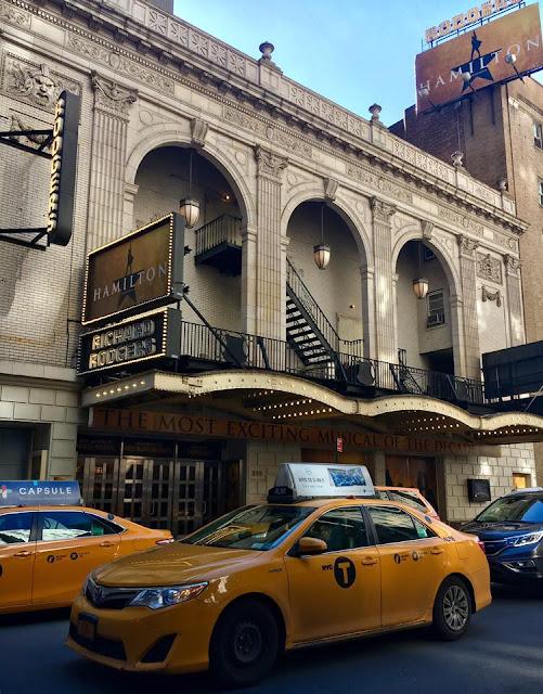 Richard Rogers Theater - Hamilton