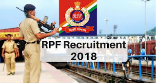 RPF Constable  (Ancillary)  Recruitment  2018 Online Form for 798  Posts