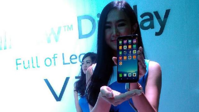 Vivo V7 Diluncurkan di Indonesia, Bawa 3 Keunggulan