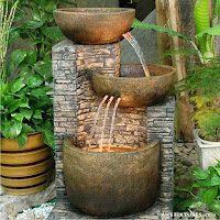 Las más bellas fuentes de agua para tu jardín