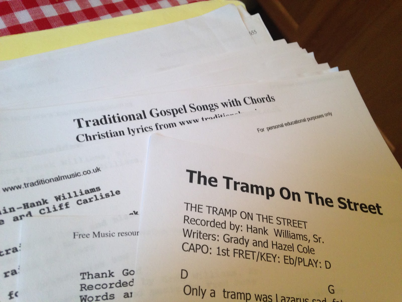 Experimental Theology Personal Days Praying With Hank Williams