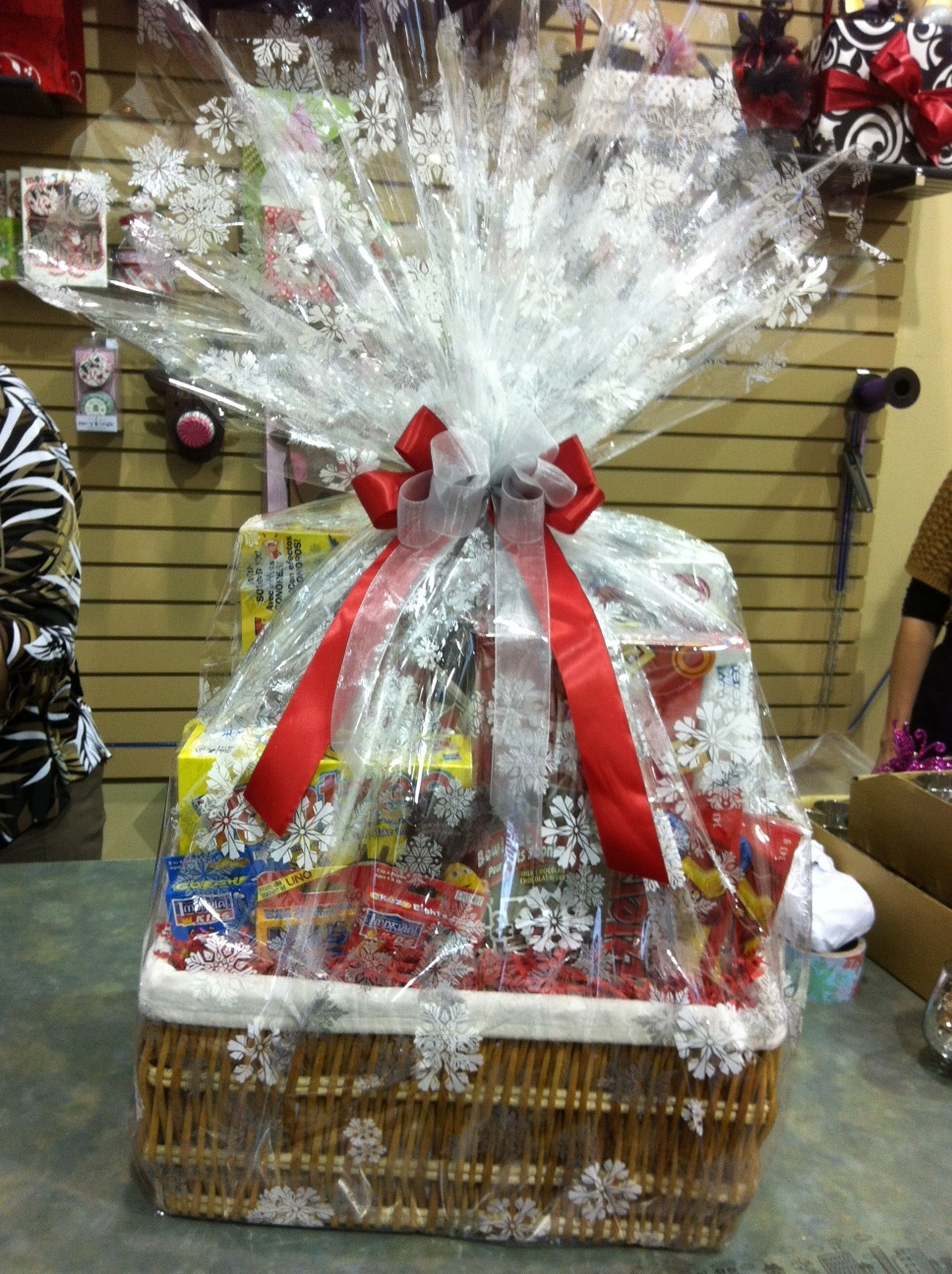 Wrap Up Those Gift Baskets