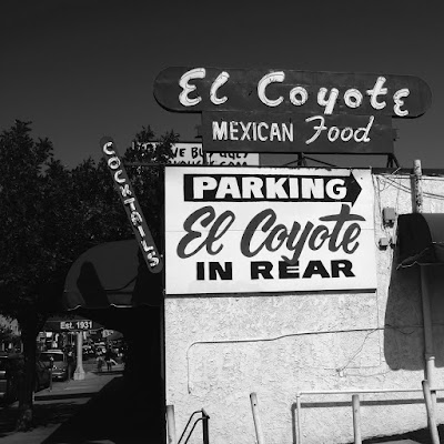 El Coyote: photo by Cliff Hutson