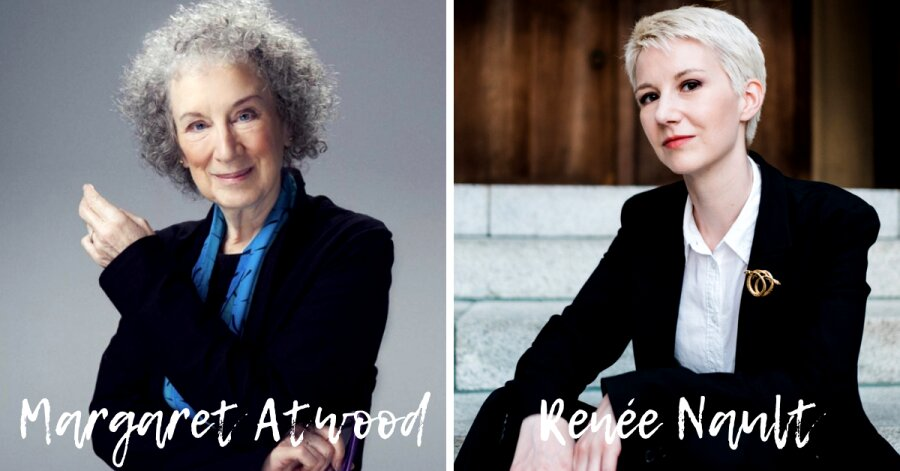 Margaret Atwood e Renée Nault
