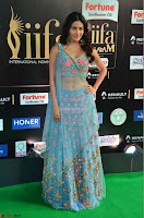 Amyra Dastur in Flower Print Choli Transparent Chunni at IIFA Utsavam Awards 15.JPG