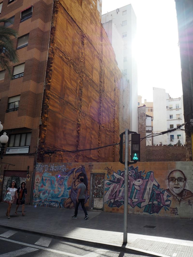Street art in Alicante