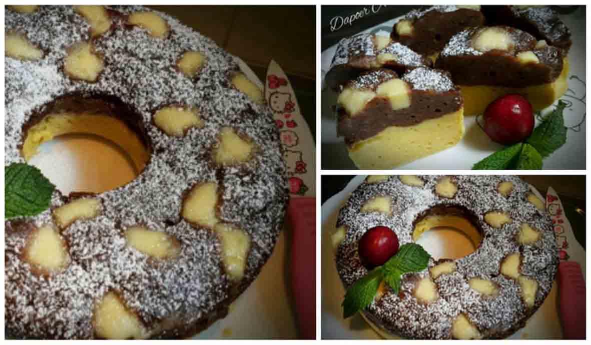 Cake Kentang Kukus
