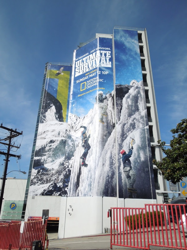 Giant Ultimate Survival Alaska billboard