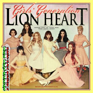 Girls' Generation - Lion Heart - The 5th Album (2015) Album cover