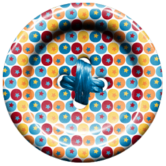 Buttons of the Circus Clip Art