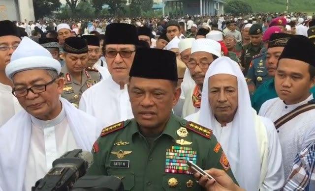 Panglima TNI Nyatakan Habib Rizieq Jadi Korban Propaganda Australia