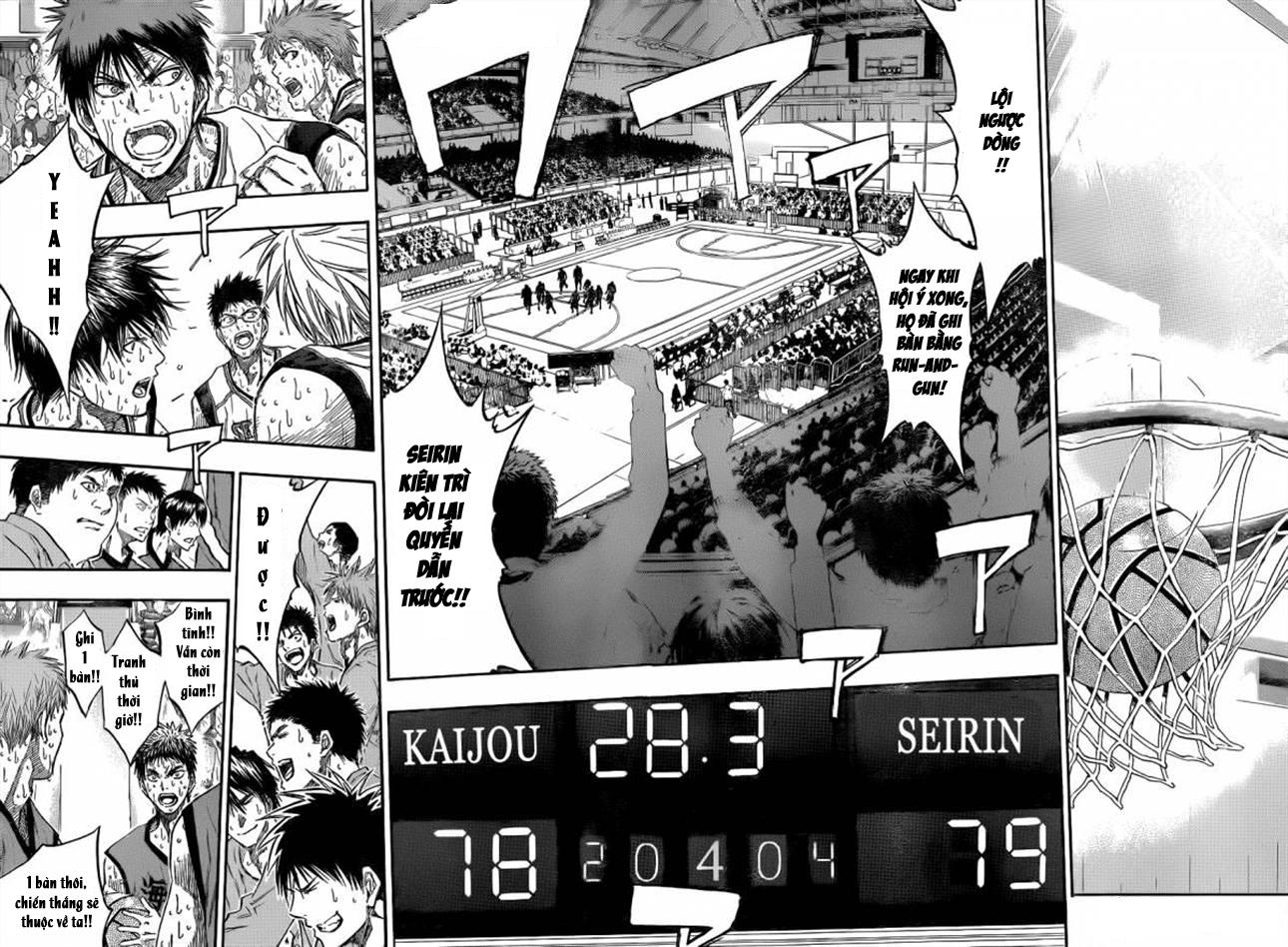 Kuroko No Basket chapter 200 trang 15