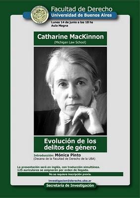 Resultado de imagen para Catherine MacKinnon ( Acoso sexual a las mujeres que trabajan