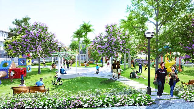Khống gian phong cảnh dự án Phúc Hưng Complex