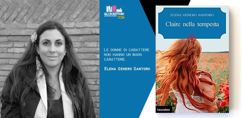 Elena Genero Santoro presenta: Claire nella tempesta