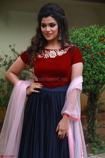 Actress Aathmika in lovely Maraoon Choli ¬  Exclusive Celebrities galleries 073.jpg
