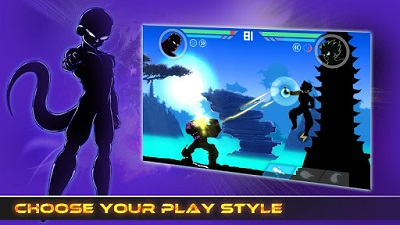 Download Shadow Battle 2.1 v2.1.36 Mod Apk Unlimited Money