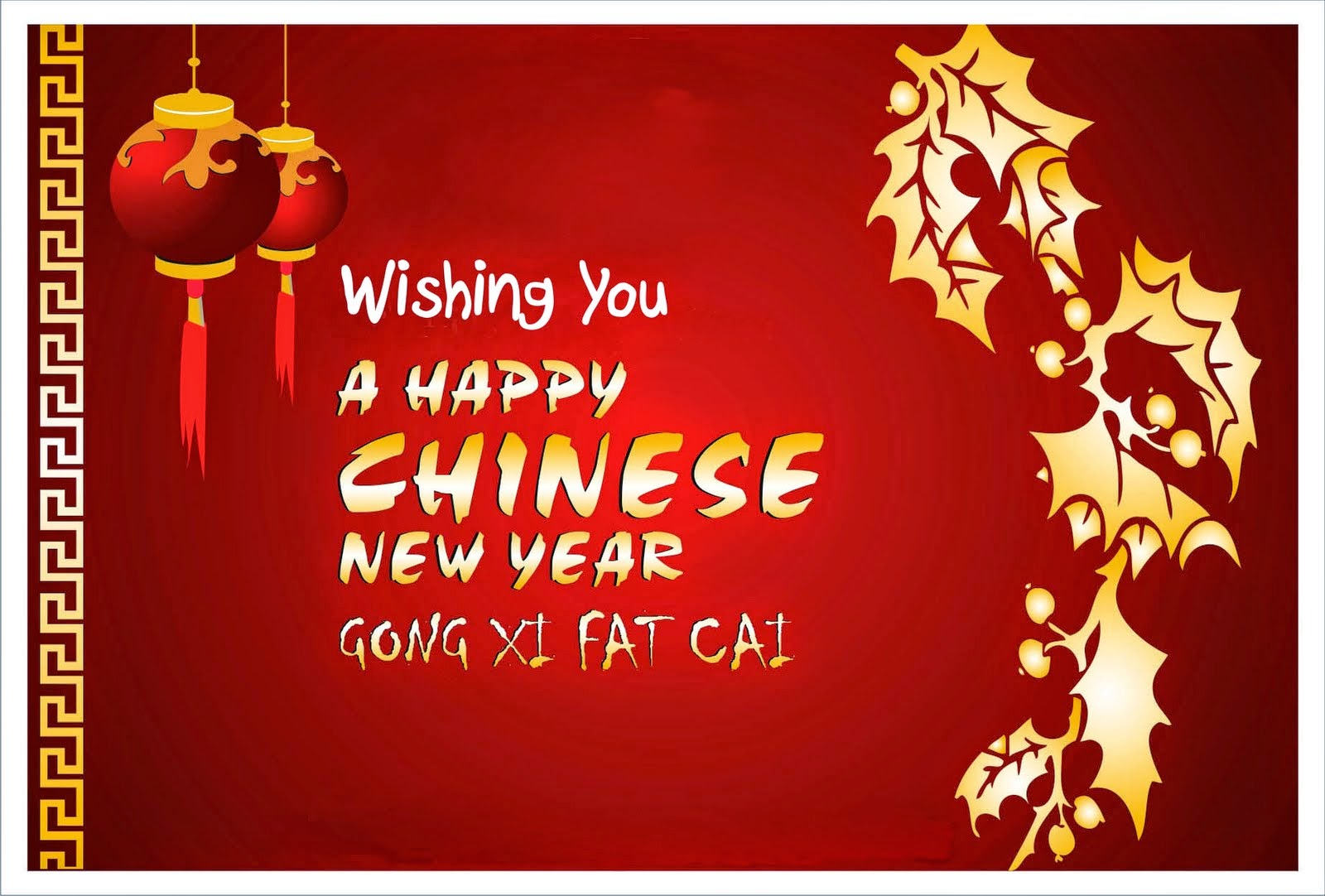 Gong Xi Fa Cai! Happy Lunar New Year =)