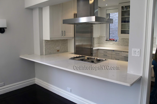 Quartz kitchen countertops in manhattan NY