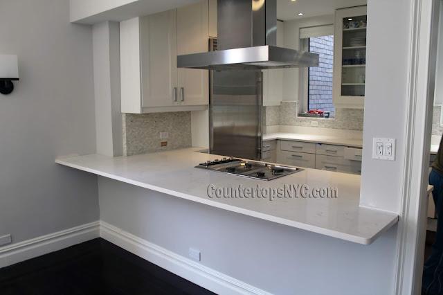 Quartz kitchen countertops in manhattan NY